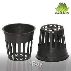 100 2 Inch Net Cup Pots Hydroponic System Grow Kit