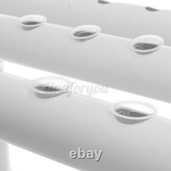 108 Holes Plant Site Hydroponic Growing Tool Kit Garden System 12Pipes Vegetable