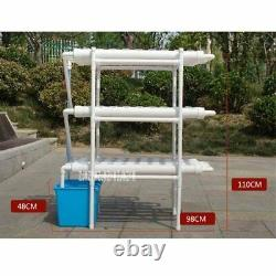 108 Holes Soilless Hydroponic Grow Kit Water Culture Garden Balcony Pipe Set