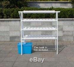 110V Hydroponic Site Grow Kit 72 Ebb and Flow Deep Water Ladder Garden Pump
