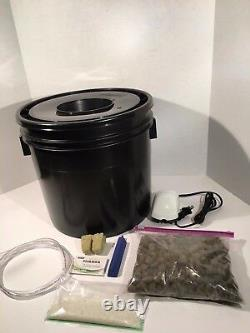 1 Site Hydroponic System Grow Room Complete Grow Tent Kit DWC LED Grow Light