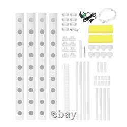 220V Hydroponic Grow Kit System 36 Sites Garden Grow Planting Box Vegetables Too