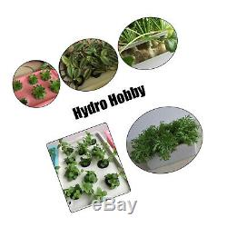 220V Hydroponic System Kit 12 Holes DWC Soilless Cultivation Indoor Water Grow