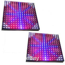 2x Grow Light Panel 28W QUAD-BAND 450 LEDs for Green house, Hydroponic System
