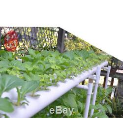 36 Planting Location 4 Tubes 2-Layer Hydroponic Tubes Kit Vegetable Growing