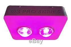 400W LED Grow Light Big eyes Lamp Panel Indoor Plant Hydroponic System 10 Band