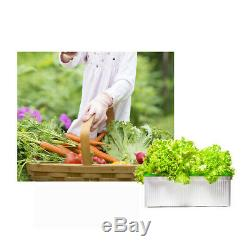 5V PVC Grow Kit Hydroponic System Water Planting Grow Box Productive Vegetables