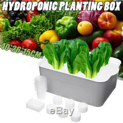 6/7 Holes Plant Site Hydroponic System Grow Bubble Tub DWC Deep Water Culture