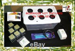 (6) Site Hydroponic Grow System With Nutrients & pH Test. More 18 Piece DIY Kit