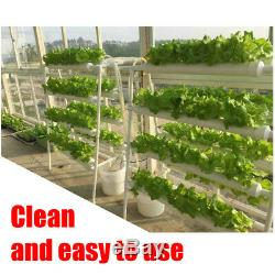72 Plant Sites Grow Hydroponic Ladder Flower Vegetable Tool Kit Garden System