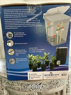 Active Aqua GFO7CB Grow Flow Ebb System And Gro Controller Unit With 2 Pumps