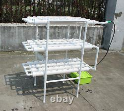 Aeroponic Plant Growing System 108 Plants Herbs Flowers