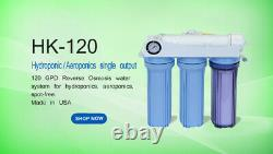 Aeroponics Hydroponics REVERSE OSMOSIS RO WATER FILTER SYSTEM GROW PLANTS SAFE
