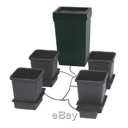 Autopot 4 Pot Grow System Kit Complete With 47L Tank Hydroponic Self Feeding