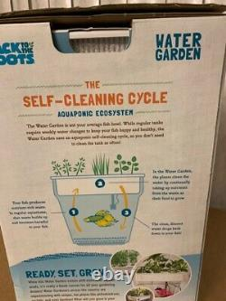 Back to the Roots Water Garden Aquaponic Self-Cleaning Fish Tank That Grows Food