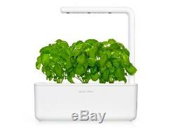 Click and Grow Smart Herb Garden with 3 Basil pods Hydroponic grow system