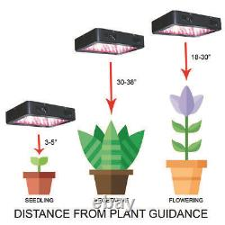 Complete Grow Tent Kit 300W LED Set Up Pro Indoor Growing Light Size Hydroponic