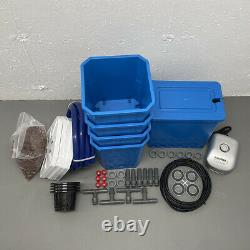 Deep Water Culture (DWC) 4 Site Hydroponic Grow Kit System