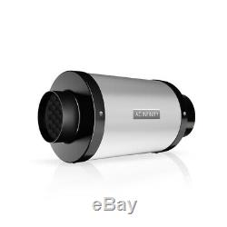 Duct Fan Silencer, 4 Noise Reduction Muffler for Hydroponics Grow Tent Systems