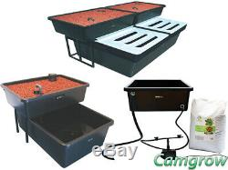 FishPlant Hydroponic Systems Family Unit, Production Unit & Retro-Fit Grow Bed