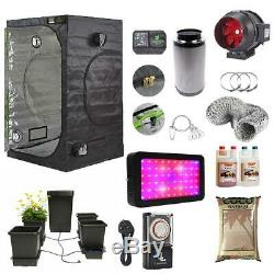 Green Box Complete Grow Tent Kit With 4-Pot Autopot Canna Coco LED Grow Light