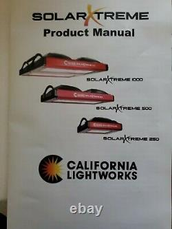 Grow Light California Lightworks Solar Xtreme System 250 -120Volt Barely Used