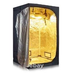 Grow Tent Room Kit Hydroponic Growing System Carbon Filter Combo Multiple Size