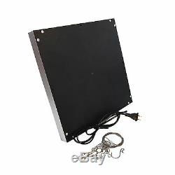 HQRP 2x Blue + 2x Red 225 LED Grow Light Panel for Indoor Grow Hydroponic System
