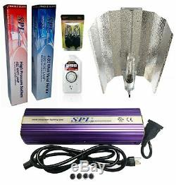 Horticulture Hydroponic 400W Watt Grow Light Kit Digital Dimmable HPS MH System