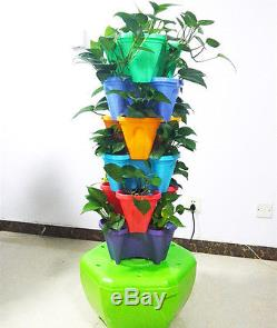 Hydroponic 18 Planting System Tower Organic Planting Kit Great Growing Results