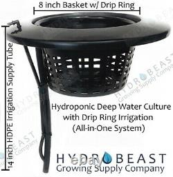 Hydroponic Deep Water Culture (DWC) & Drip Ring Grow System (Premier Package)
