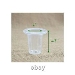 Hydroponic Double Side 88 Plant Site Grow Kit Garden Growing System SS Holder