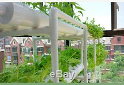 Hydroponic Grow Kit 108 Sites 12 Pipes 3 Layers Deep Water Vegetable Plant