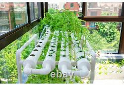 Hydroponic Grow Kit 12 Pipes 3 Layers 108 Plant Sites System Nutritious 110V