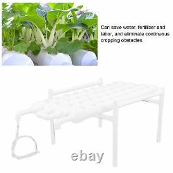 Hydroponic Grow Kit 1 Layer PVC Pipes Hydroponics Growing System 100-240V
