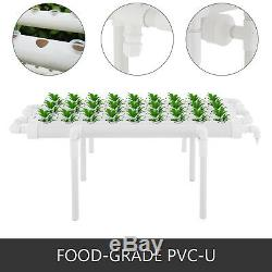 Hydroponic Grow Kit 36 Sites 4 Pipes Melon Garden System Vegetable Gardening diy