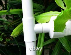 Hydroponic Grow Kit 4 Pipes 4 Layers 36 Plant Sites Water Culture Garden System