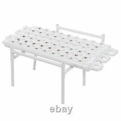 Hydroponic Grow Kit 54 Hole Plant Sites PVC Pipes Plant Growing System100-240V