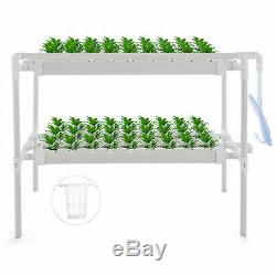Hydroponic Grow Pipe Kit 36/54/72/90/108 Holes Garden 2 Layers Melons 3 Layers