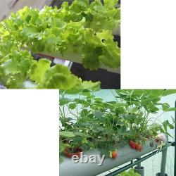 Hydroponic Grow System Kit 108 Plant Sites 12 Pipes 3 Layers Garden Plant Vegeta
