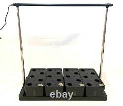 Hydroponic Growing system 20 plant sites, removable boxes and adjustable height