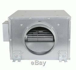 Hydroponic Metal Acoustic Box Fan (HCSF / HD) Grow Room Extraction System Silent