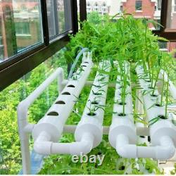 Hydroponic Piping Site Grow Kit Deep Water Culture Planting Box Gardening System