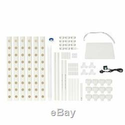 Hydroponic Piping Site Grow Kit Gardening System Hydroponic Rack 54 Holes