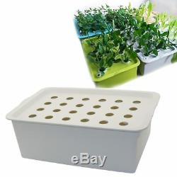 Hydroponic Plant Site Nursery Pots System Seedling Planters Home Indoor Grow Kit