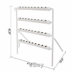 Hydroponic Site Grow Kit 36 Planting Sites Garden Plant System Vegetable Tool US