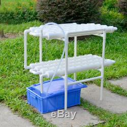 Hydroponic Site Grow Kit 72 Site Plant Seed Ebb Water Culture Garden System