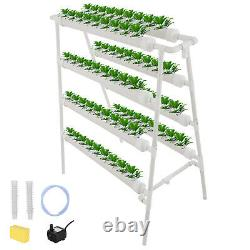 Hydroponic Site Grow Kit 72 Sites Ladder-type Plant System Vegetable Garden Tool
