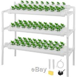 Hydroponic Site Grow Kit 90 Site Deep Water Culture Garden System Plant