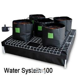 Hydroponic Watering System 5 16l Pot Water Pump For Grow Tent Growing Plants